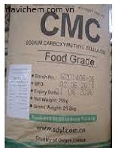 Phụ gia ngành kem - CMC - Cacboxylmethyl Cellulose
