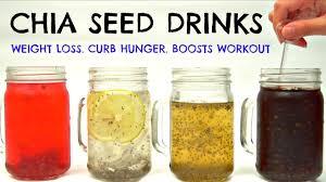 Nước trái cây hạt chia